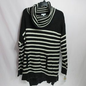 Charter Club Black and White Sweater 3X